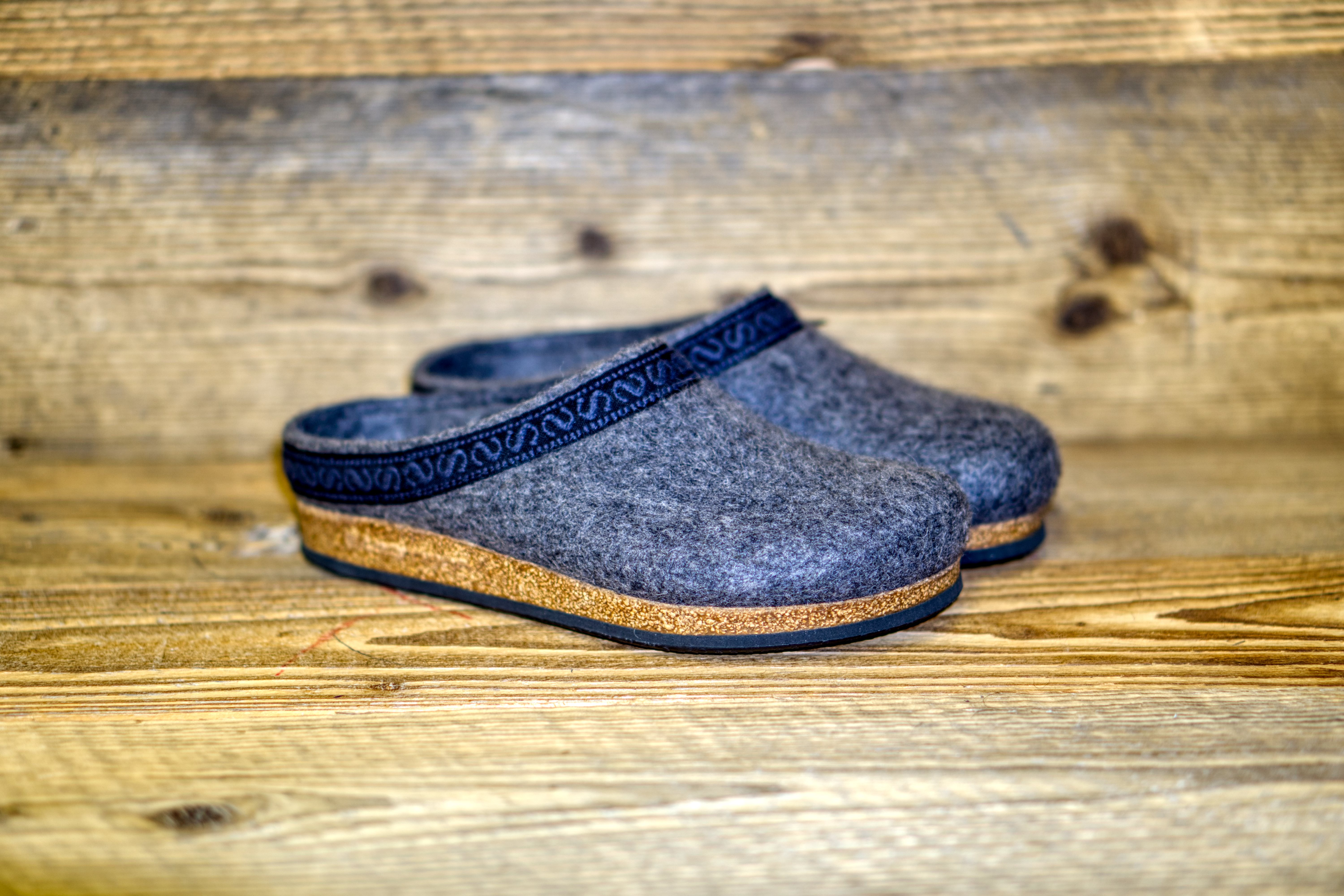 Filzclogs Stegmann 108 grey