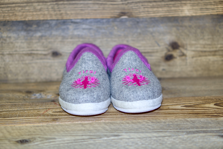 Tux Adler hellgrau pink