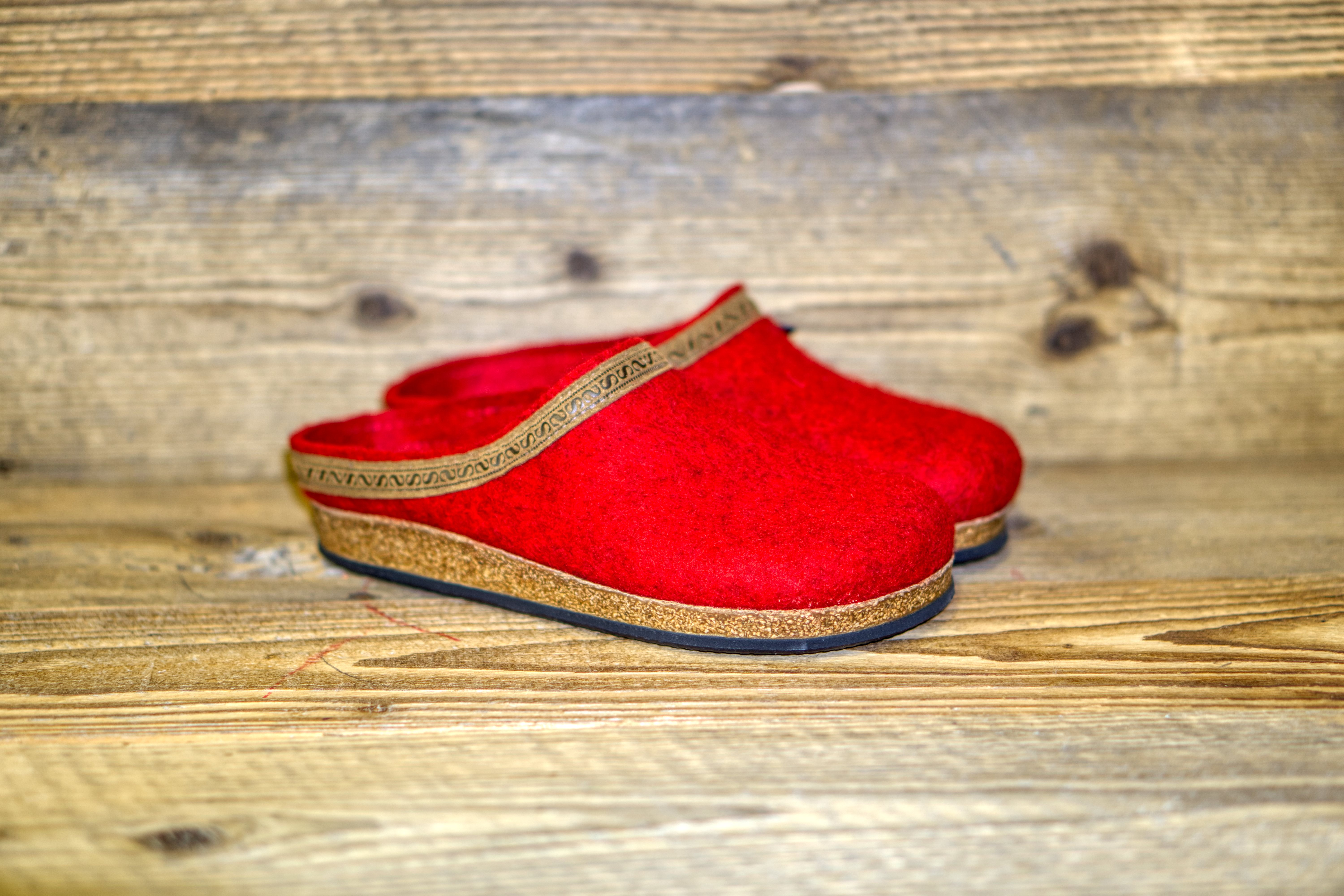 Filzclogs Stegmann 108 dark cherry