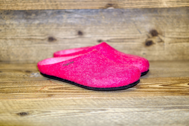 Filzpantoffel AN 709 pink